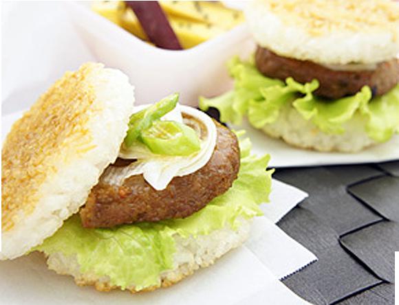レシピ ライス バーガー 夏野菜のライスバーガー15分レシピ!バンズをまとめて作って時短